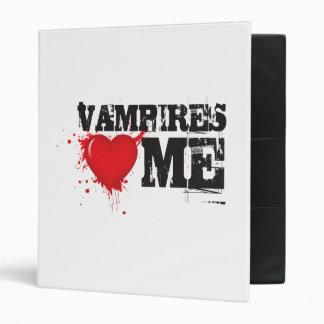 Vampire vamps love me 3 ring binder
