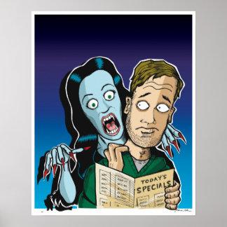 Vampire Waitress Posters