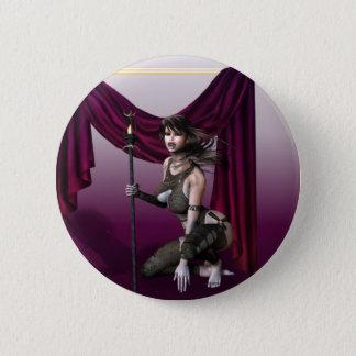 Vampire Warrior Button