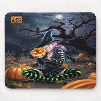 Vampire Witch Mousepad