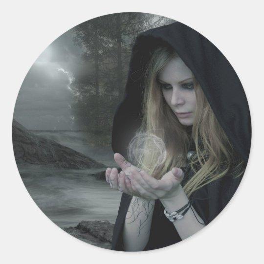 Vampire & Witchcraft Classic Round Sticker