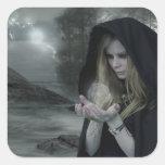 Vampire & Witchcraft Square Sticker