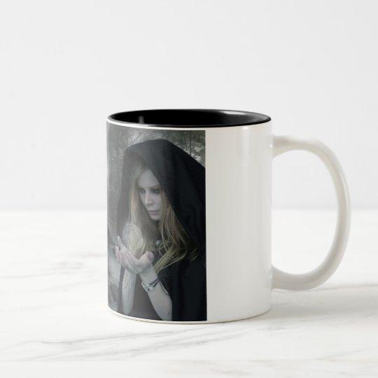 Vampire & Witchcraft Two-Tone Coffee Mug