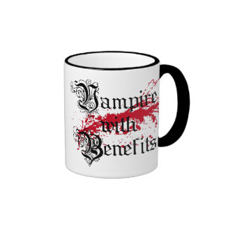 Vampire with Benefits Coffee Mug