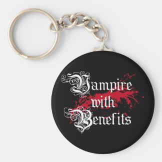 Vampire with Benefits Keychain