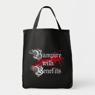 Vampire with Benefits Tote Bag