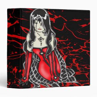 Vampire Woman Avery Binder