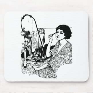 Vampire Woman Mouse Pad