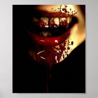 Vampire woman poster