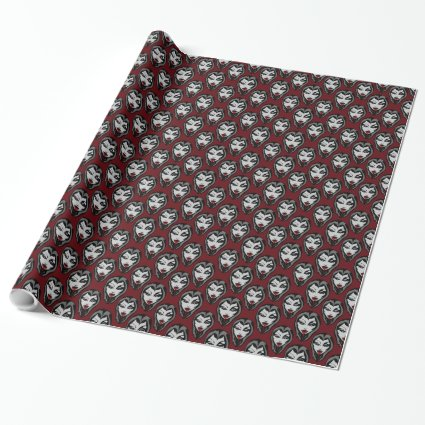 Vampire Wrapping Paper Cute Vampire Gift Paper