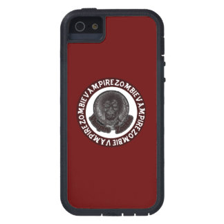 Vampire Zombie - Red & White Circle iPhone SE/5/5s Case