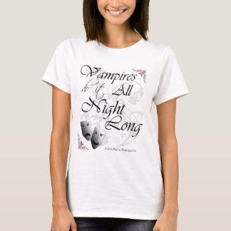 Vampires Do It All Night Long T-Shirt