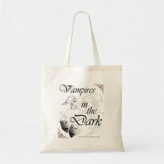 Vampires Do It in the Dark - Tote Bag