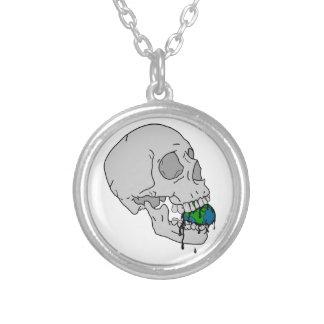 Vampire's Fate Round Pendant Necklace