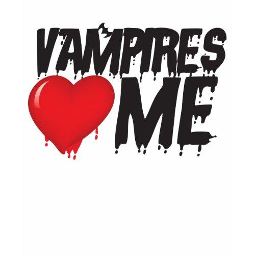 Vampires heart me shirt