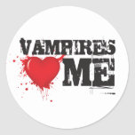 Vampires Heart Me Sticker