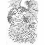 Vampire's Kiss by Al Rio - Vampire and Woman Art Statuette