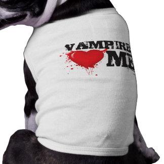 Vampires loves me shirt
