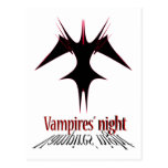 Vampires´ night postcard