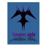 Vampires´ night postcards