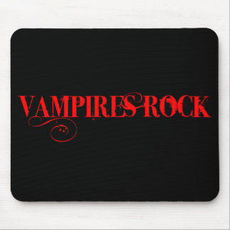 Vampires Rock Mouse Pad