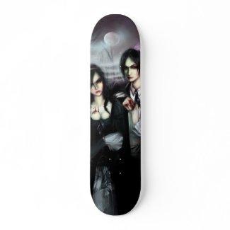 Vampires Skateboard Deck skateboard