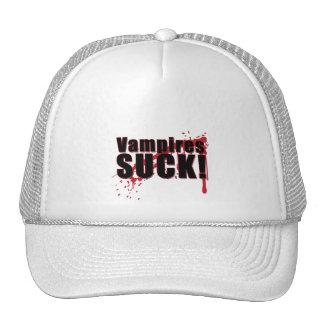 Vampires SUCK 2 Mesh Hat