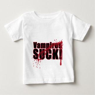 Vampires SUCK 3 Baby T-Shirt