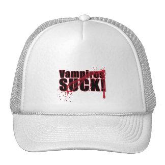 Vampires SUCK 3 Trucker Hats