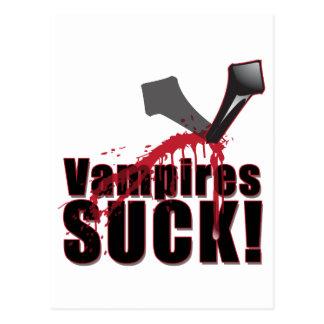 Vampires SUCK 4 Postcard
