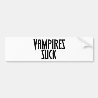 Vampires Suck Bumper Sticker