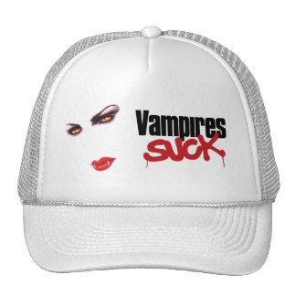 Vampires Suck description of what a vampire does Mesh Hats