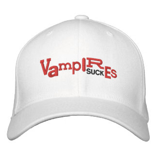VAMPIRES SUCK Halloween Embroidery Hat Embroidered Baseball Cap