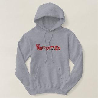 VAMPIRES SUCK Halloween Embroidery Hoodie