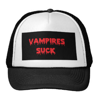 Vampires Suck Trucker Hat