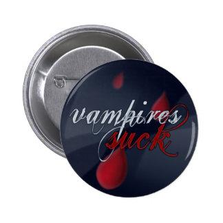 """""""Vampires Suck"""" pin/badge"""