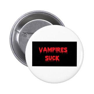 Vampires Suck Pinback Button