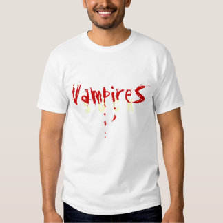 VAMPIRES SUCK TSHIRTS