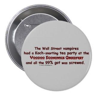 VampiresGreedfest3 Pinback Buttons