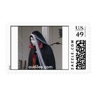 Vampiress Lily, USPS Stamp audilee.com
