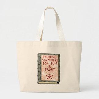 vampiressbooke1 large tote bag