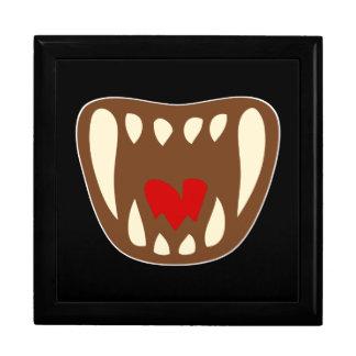 Vampirgebiss vampire fangs jewelry box