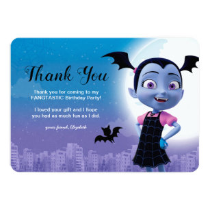 Vampirina Birthday | Thank You Invitation
