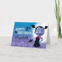 Vampirina   Happy Birthday Card