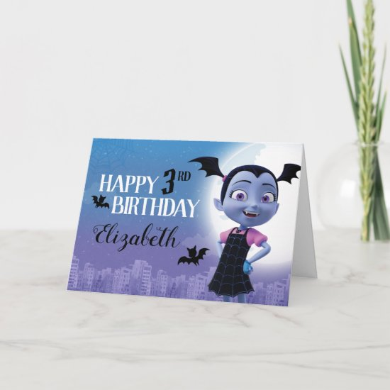 Vampirina | Happy Birthday Card