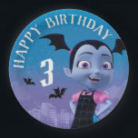 "Vampirina | Happy Birthday Paper Plate<br><div class=""desc"">Celebrate  your child&#39;s Birthday Party with these FANGTASTIC Vampirina Birthday paper plates. Personalize by adding your child&#39;s age.</div>"