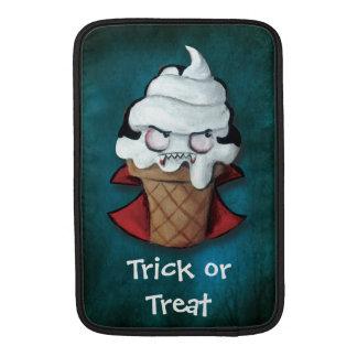 Vampiro asustadizo dulce del helado fundas macbook air