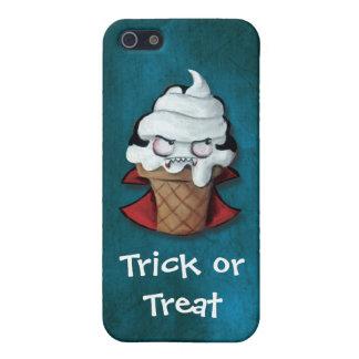 Vampiro asustadizo dulce del helado iPhone 5 carcasas