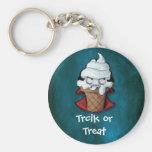 Vampiro asustadizo dulce del helado llaveros