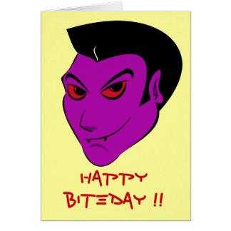 Vampiro Darkling - tarjeta de la celebración